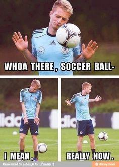 Attack of the killer soccer balls.