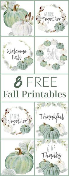Halloween Tags, Fall Halloween, Halloween Crafts, Halloween Makeup, Thanksgiving Diy, Free Thanksgiving Printables, Diy Home Crafts, Fall Crafts, Crafts Cheap