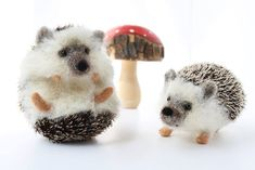 I specialize in creating lifelike animals through Needle felting. Needle felting is still a relatively unknown craft/artform. It is done by stabbing into wool fibers with a very sharp, barbed needle over and over.