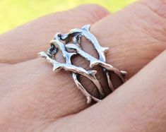 Art Nouveau Small ear cuff Sterling Silver par RingRingRing sur Etsy