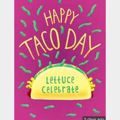 It's National Taco Day!!! Guess what I'm making for dinner  #bmbtakeover #nationaltacoday #tacotuesday #tacos