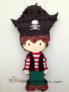 Si vas a organizar una fiesta temática pirata esta idea de decoración te será de gran ayuda #party #decoracion