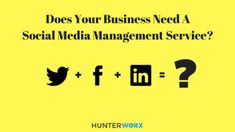 Does Your Business Need a Social Media Management Service?  . . Read Here: http://wu.to/wPUBJE . .  #socialmedia #twitter #facebook #instagram #google #linkedin #business #marketing #marketingstrategy