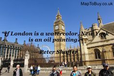 I like living in London, I like the formality of it, as compared to the formality of America. #London #Love #Best