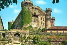 Castello Odescalchi in Bracciano, Italy, near Rome.  Great day trip, don't miss it.