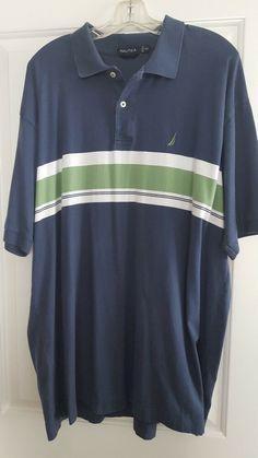 89f7e70f Nautica Mens Polo Shirt Size XXL #fashion #clothing #shoes #accessories  #mensclothing