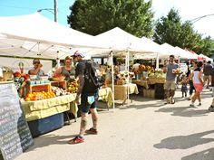 Logan Square Farmers Market. This is Logan Square....