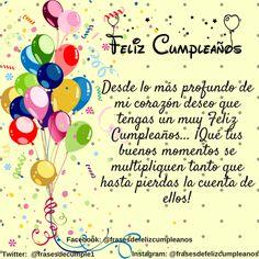 32 Top Ideas happy birthday dad quotes in spanish Happy Birthday Wishes Spanish, Happy Birthday Ecard, Happy Birthday Wishes Cards, Happy Birthday Celebration, Happy Birthday Pictures, Birthday Wishes Quotes, Dad Birthday, Birthday Greetings, Happy Birthdays