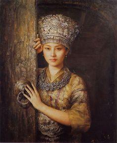 Zhao Chun - Dreams. Miao Woman