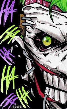 Le Joker Batman, Der Joker, Joker Comic, Batman Art, Joker And Harley Quinn, Comic Art, Joker Images, Joker Pics, Gotham Villains