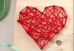 Hearts on the Wall, Nail art, and free printables