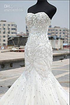 Bling Wedding Dresses Cheap