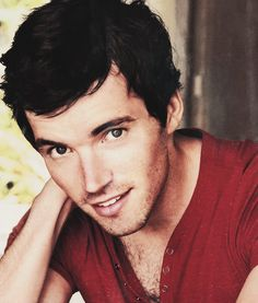 Ian Harding. tHe looks kinda like Colin morgan or is that just me