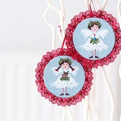Christmas Angels  made by Peonia's Studio (Lilli Violette pattern)