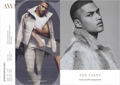 ROB EVANS-  Storm Models London Fall Winter 2015.16 Show Package