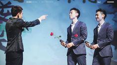 150809 #counterattackwebseries premiere in Beijing #Wangqing #Fengjianyu #QingYu Choose one of them!