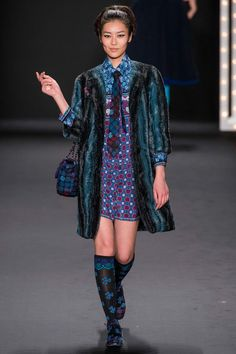 Anna Sui Fall 2013 Ready-to-Wear Collection Slideshow on Style.com