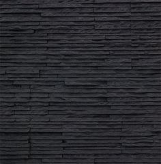 Black Monviso panels, a stunning contemporary finish Stone Cladding Texture, Brick Texture, Exterior Wall Cladding, House Paint Exterior, Photography Backdrop Paper, Art Grunge, Patterned Paint Rollers, Stone Wall Panels, Exterior Wall Materials