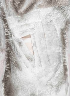Innovative Textiles Design - motion-activated dress made with pins; wearable technology; interactive fashion // Ying Gao