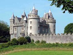 castles, northern ireland, counti ireland, place, magnific castl, killyleagh castl