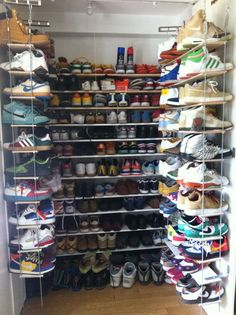 Mens Shoe Closet the most impressive sneaker closets in coveteur history | sneaker