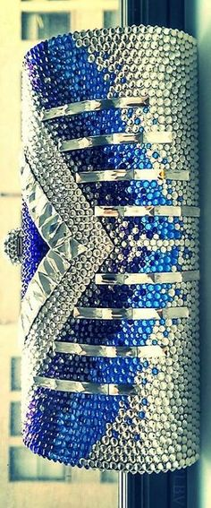 Louis Vuitton Swarovski encrusted clutch ᘡղbᘠ