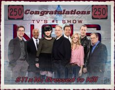 NCIS Congratulations 250 episodes