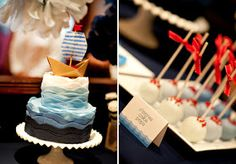 ... ♥ Nina Designs + Parties: Cumpleaños Marinero! / Nautical Birthday!