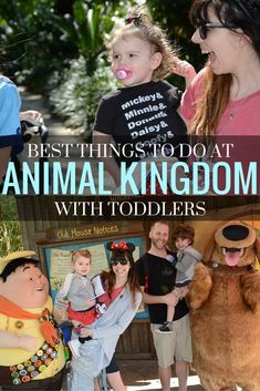 A list of the Best Things to do at Animal Kingdom with Toddlers. Featuring lots of character meet and greets, fun fossil games, the Lion guard adventure, and the festival of the Lion King!