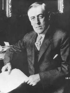 an analysis of woodrow wilson and his commitment to peace Woodrow wilson took 10 ways of looking at woodrow wilson fdr believed in wilson's vision of a global forum of countries ensuring peace through.