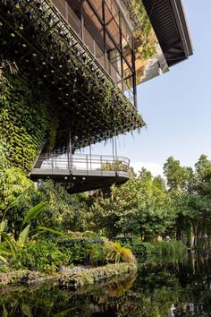 The also demonstrates how architecture is developing in Singapore within its own hot climate.