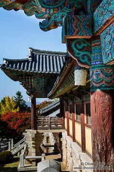 Bulguksa Temple . South Korea