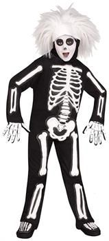Saturday Night Live David S Pumpkins Beat Boy Skeleton Child Costume - PartyBell.com