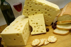 Amish Swiss Cheese is a mild creamy swiss, with a smooth texture. Has large holes and can be used for anything you desire. Mainly used for sandwiches or a table cheese. Cheese Dishes, Meat And Cheese, Cheese Bread, Wine Cheese, Cheese Recipes, Making Cheese At Home, How To Make Cheese, Food To Make, Fromage Cheese