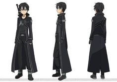 Kirigaya Kazuto goes by the name Kirito, was adopted by his aunt and uncle a year after his birth when his biological parents died in an accident. Description from abcwc3.4rumer.net. I searched for this on bing.com/images