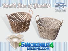 SIMcredible!'s Bathroom charms - Basket