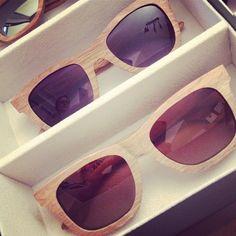 Sonnenbrillen aus Holz mit 100% UV-Schutz von www.bewoodz.de #Holzsonnenbrille #Sonnenbrille #Holzbrille