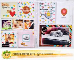 Citrus Twist Kits: Playing with Pocket Life with Olya