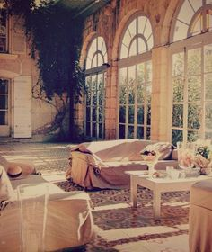 if we could build a room like this.. could be the B&B living/lounge