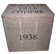 Marseille Ville Cotiere Basket from Soft Surroundings