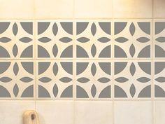 Vintage Tile Decals Stickers Pinterest