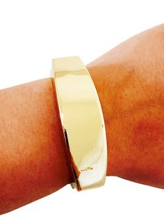The Gold TORY Fitbit Bracelet to securely hide your Fitbit Flex Fitness Tracker