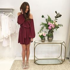 New in store... @mlm_label 'Dash' Off the Shoulder Dress available in Plum Black & Iris Blue at $159 these dresses won't last | Shop in store & online at LB X RG via @cocoandlola #mlm #mlmthelabel #lookbook #lookbookboutique #instafashion #streetstyle #streetfashion #ootd #ootn #offshoulder #dress #musthave #trending