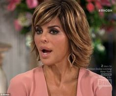 Not backing down: The soap opera star ignored Vanderpump's protest and blamed the Munchausen scandal on her