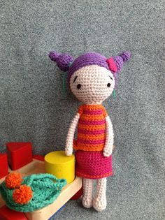 Sunday+Nr.+2++Handmade+Crochet+Doll+by+MyPetitPois+on+Etsy,+$30.00