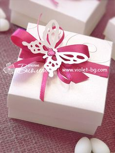 Bonbonniere, wedding #favor , #butterfly
