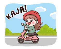 Pop Stickers, Kawaii Stickers, Funny Stickers, Anime Korea, Korean Anime, Cartoon Memes, Cartoon Art, Chibi, Korean Expressions