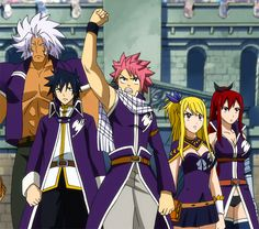 Fairy Tail | Team Fairy Tail A - Fairy Tail Wiki, the site for Hiro Mashimas manga ...