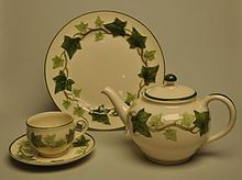 """Franciscan Ivy China.  I'd love to have """"Franciscan any pattern"""" but the Ivy is my favorite.  Plus, NERD ALERT, Franciscan Ivy China are the dishes that Lucy & Ricky have on """"I Love Lucy."""""""