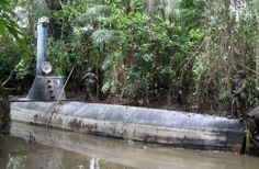 100-ft-long drug-smuggling, Narco-crafted submarine discovered in Colombia - Boing Boing